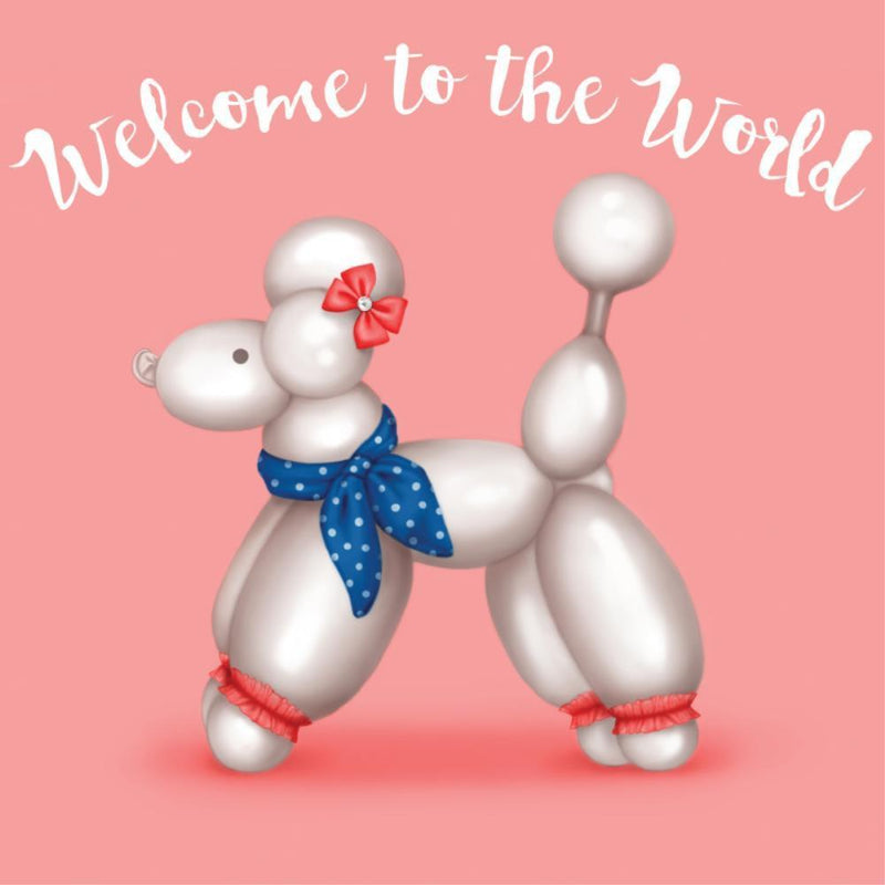 Lalaland New Baby Card - Welcome Polly - Popcorn Street