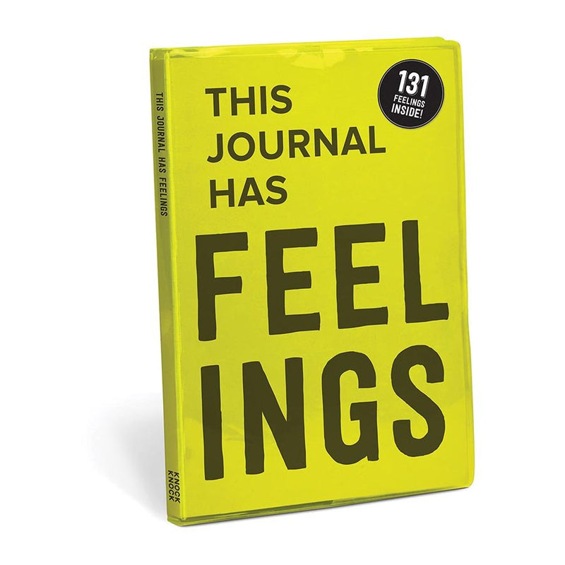 Knock Knock Journal - This Journal Has Feelings
