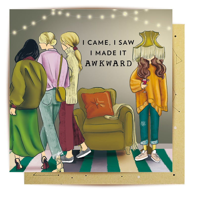 LaLa Land Card - I Made It Awkward - Popcorn Street