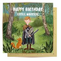 LaLa Land Card -  Little Warrior - Popcorn Street