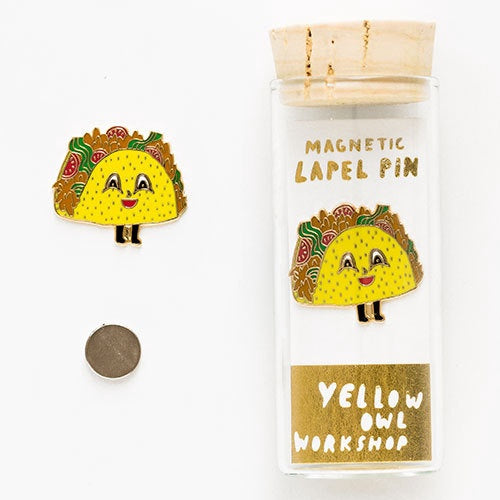 Magnetic Pin - Taco - Popcorn Street
