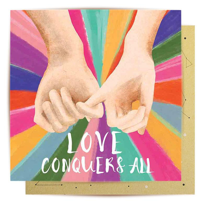 LaLaLand Card - Love Conquers All - Popcorn Street