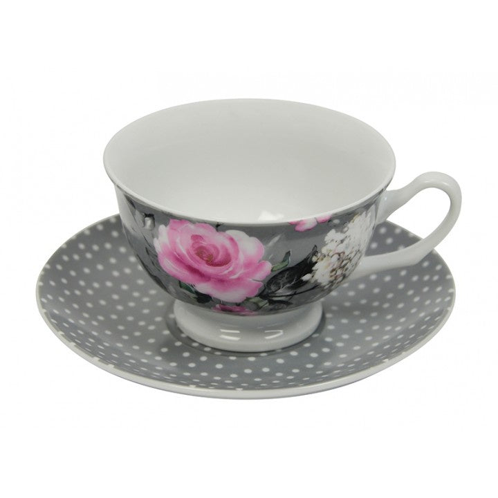 Tea Cup - Best Mum - Roses