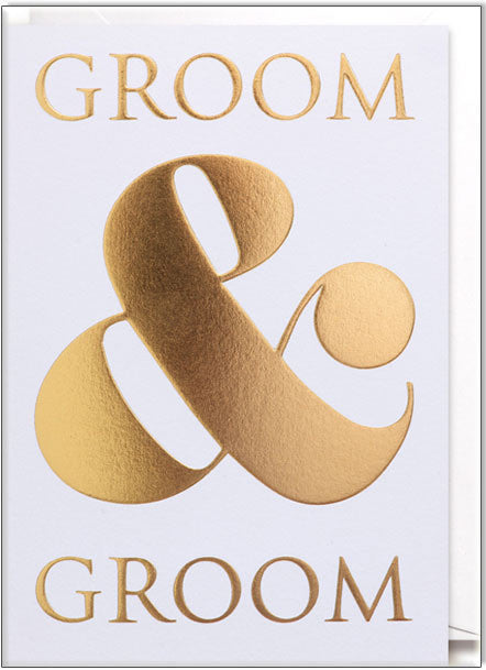 Wedding Card - Groom & Groom - Popcorn Street