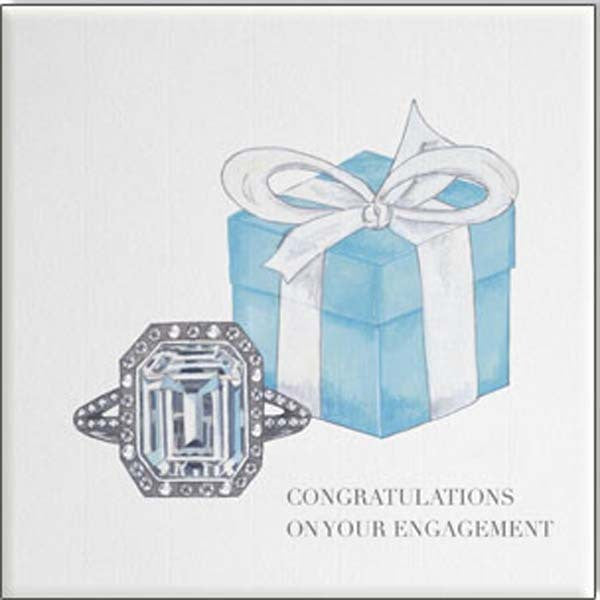 Engagement Card - Bejewelled - Popcorn Street