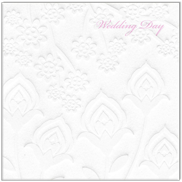 Wedding Card - Wedding Day Pink - Popcorn Street
