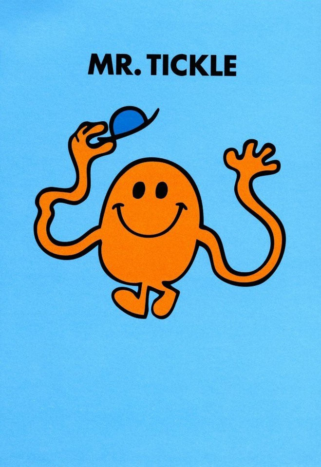Kids Card - Mr Tickle - Popcorn Street
