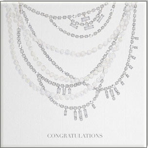 Bejewelled Card - Diamond Congratulations - Popcorn Street