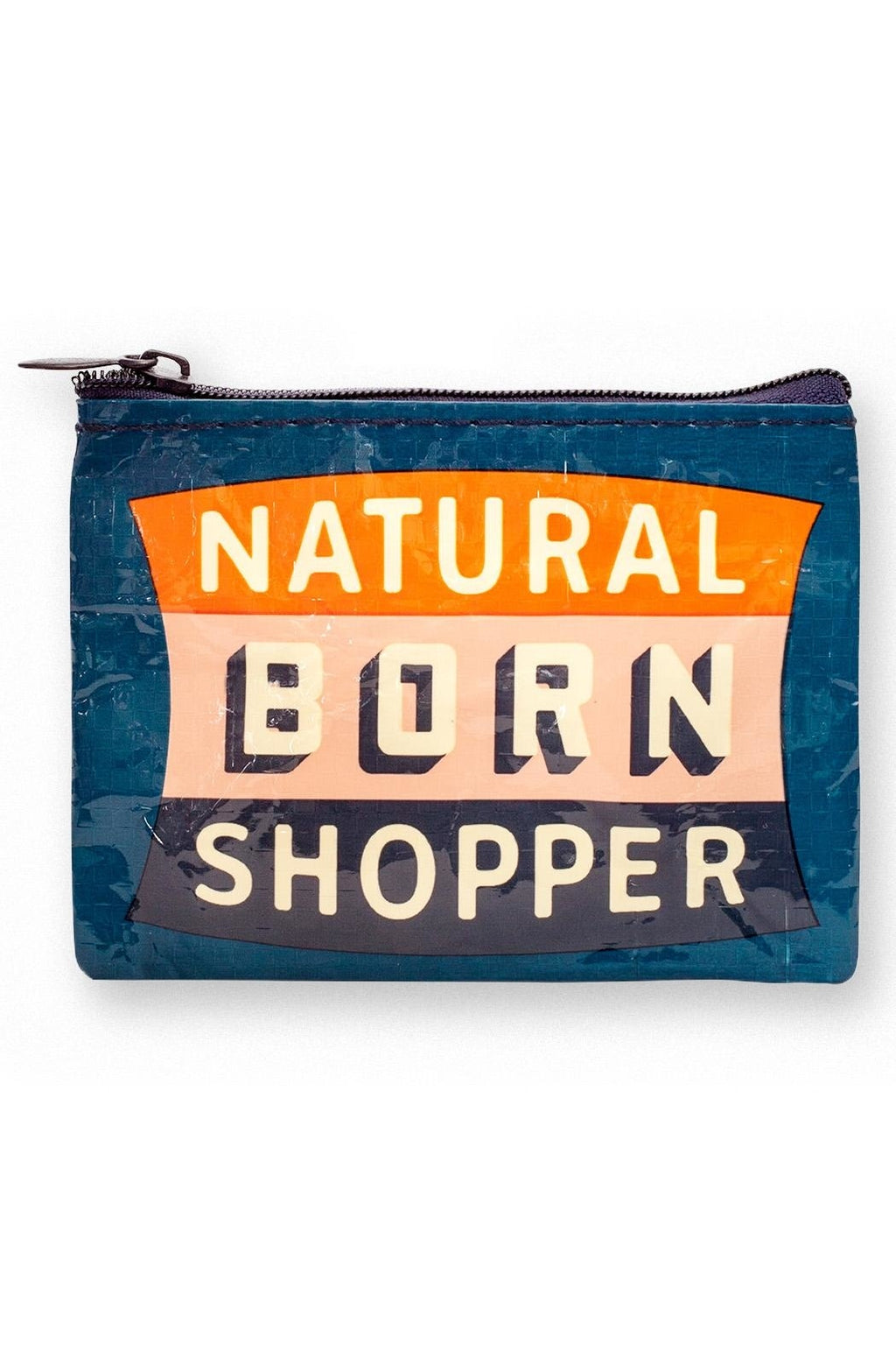 Quirky Coin Purse - Natural Born Shopper - Popcorn Street