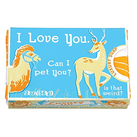 Quirky Soap: Can I Pet You?