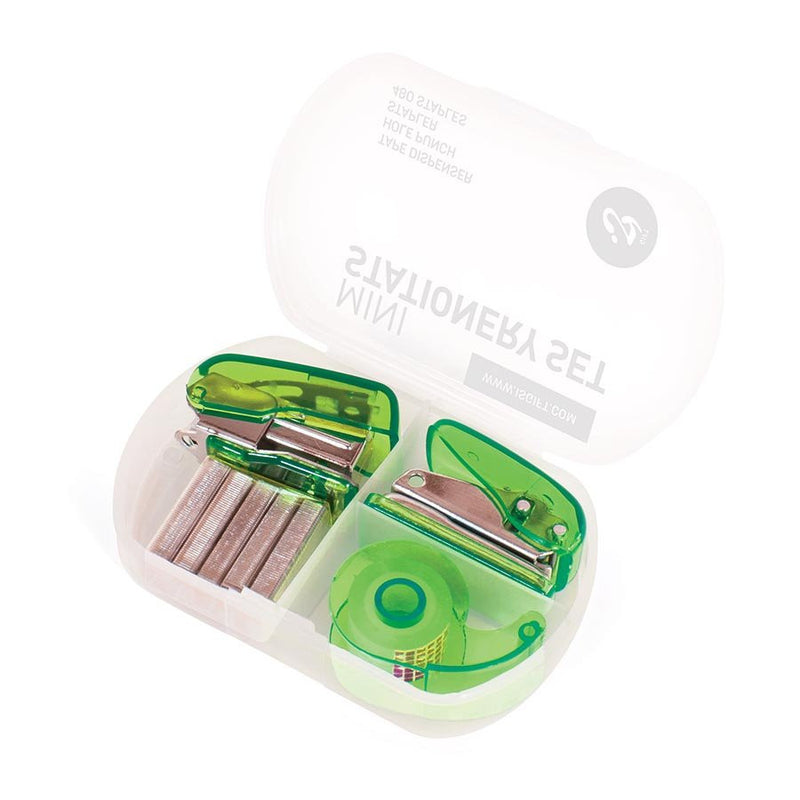 Mini Stationery Set - Green