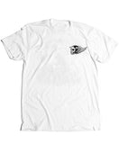 live fast drive hard white mens tee klutch republik