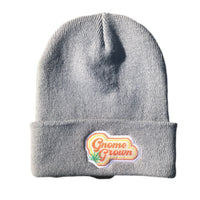 Grey Gnome Grown Beanie