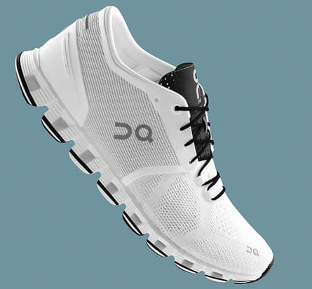 CLOUD X WHITE/BLACK W RUNNING SNEAKER