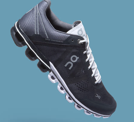 CLOUDFLOW BLACK/WHITE W RUNNING SNEAKER