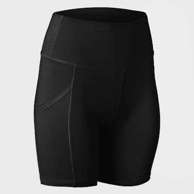 SPIRIT SHORT WITH POCKET - BLACK (NEW) - Pheel