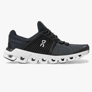 CLOUDSWIFT BLACK/ROCK  RUNNING SNEAKER