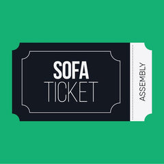 L-Shaped Sofa Assembly Ticket