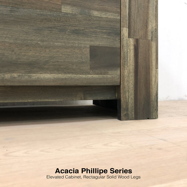 AcaciaPhillipeTV_Legs & Elevated Cabinet