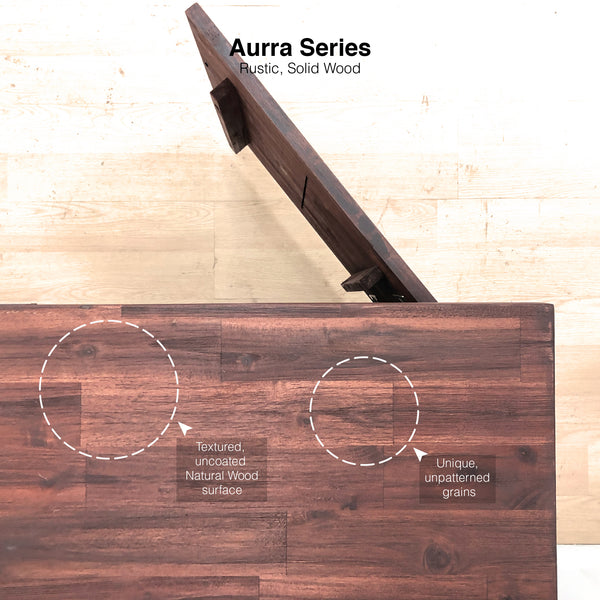 AurraTV_Grains & Wood Details