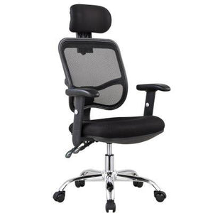 Supakuru Mesh Office Chair with Adjustable Armrest (J24) - Free Delivery - Inkagu - Shop Furniture Online