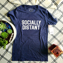 Load image into Gallery viewer, #sociallydistant Tee