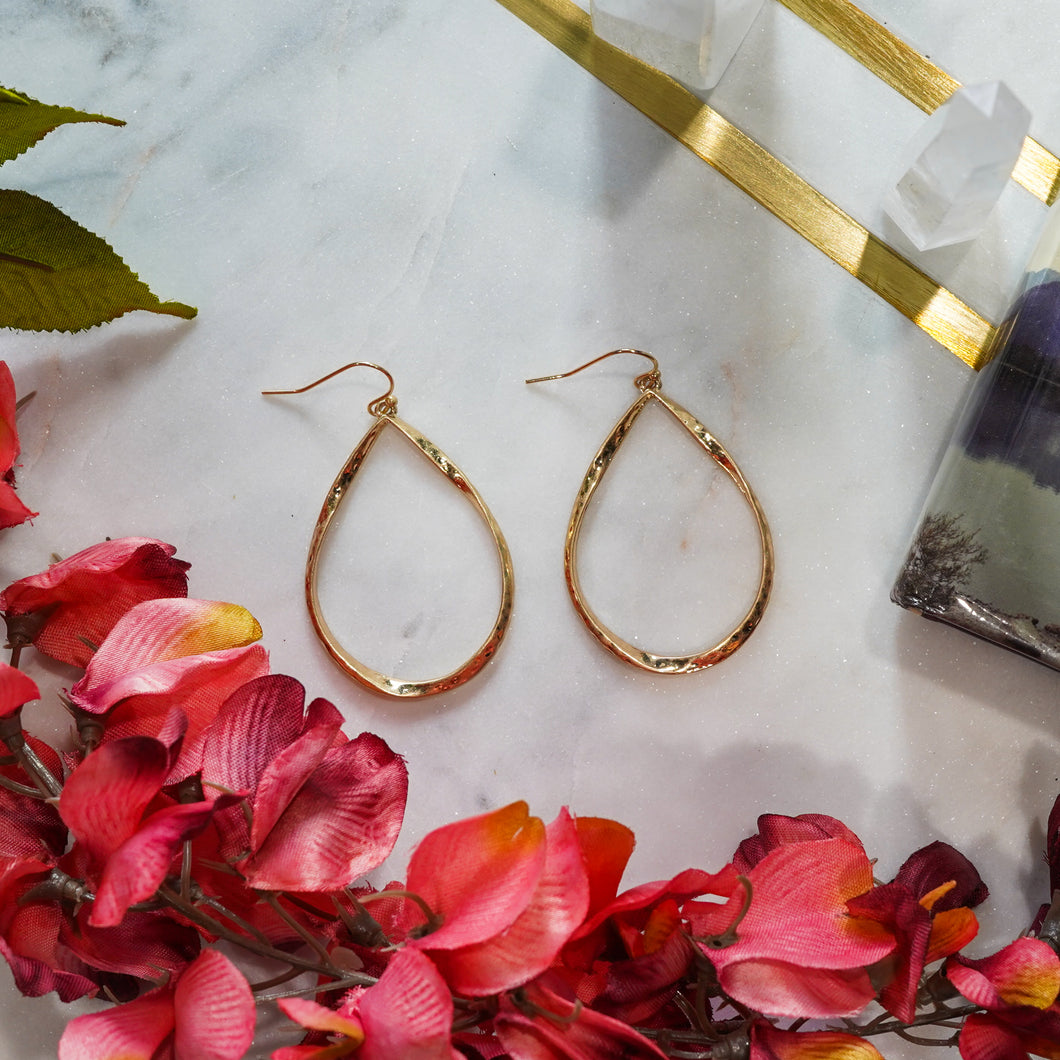 Rosalie Twisted Teardrop Earrings