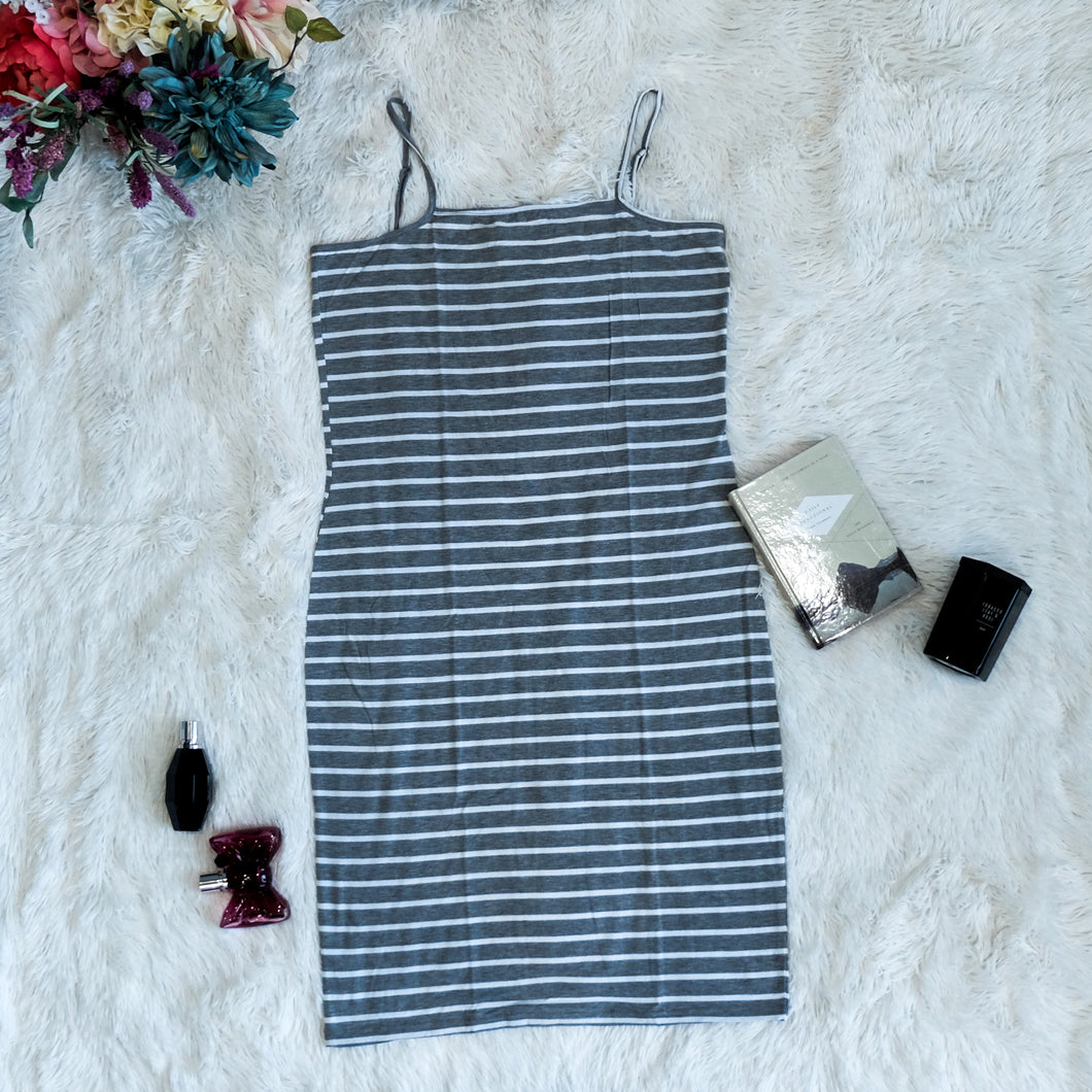 Erina Striped Bodycon Cami Dress