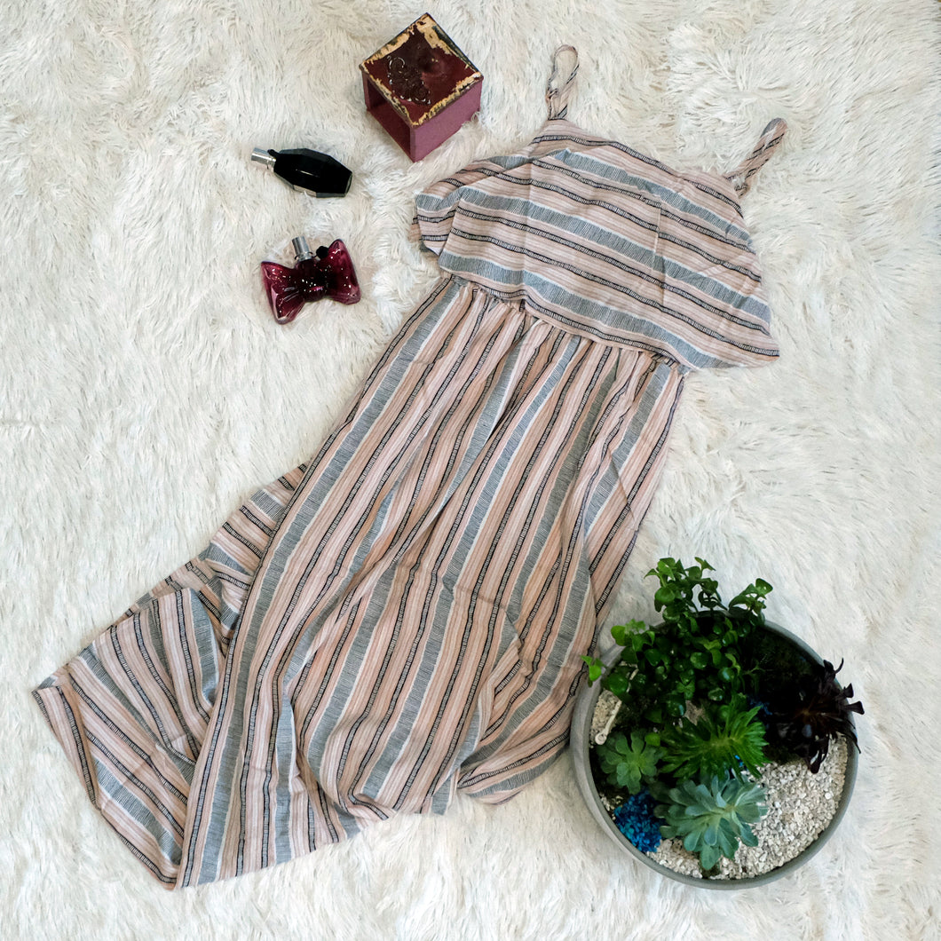 Sakura Striped Maxi Dress