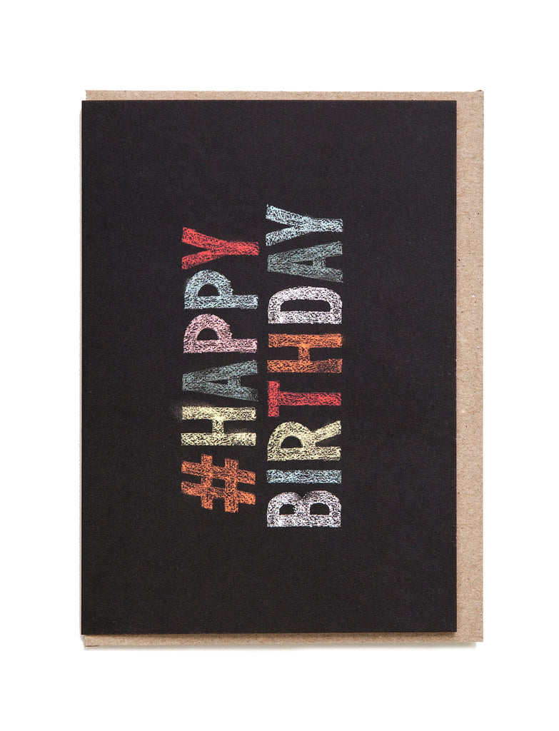 Happy Birthday A6 Greeting Card