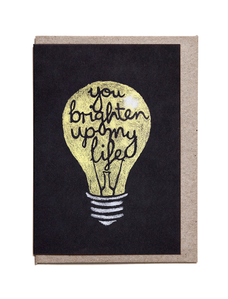 Light Bulb A6 Greeting Card