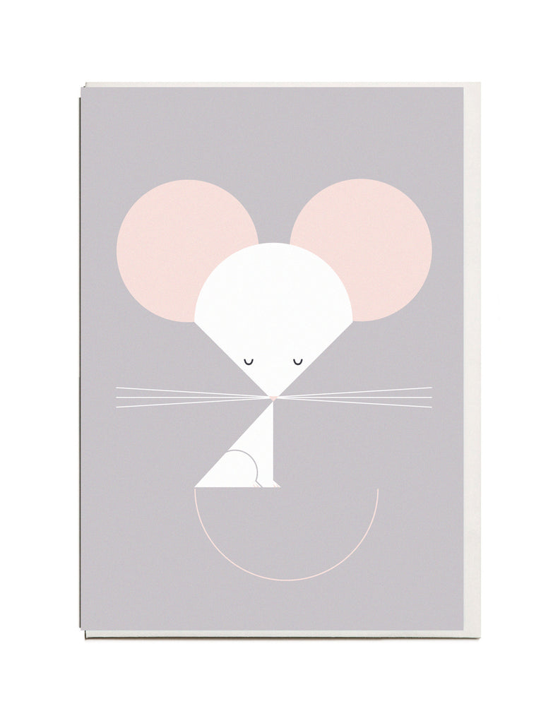 NEW! Mouse A6 Greeting Card