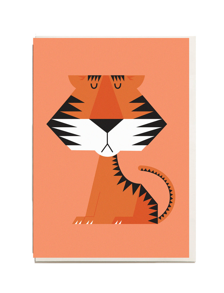 Tiger A6 Greeting Card