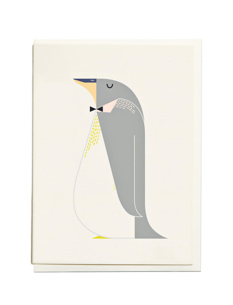 Gelato Penguin A6 Greeting Card
