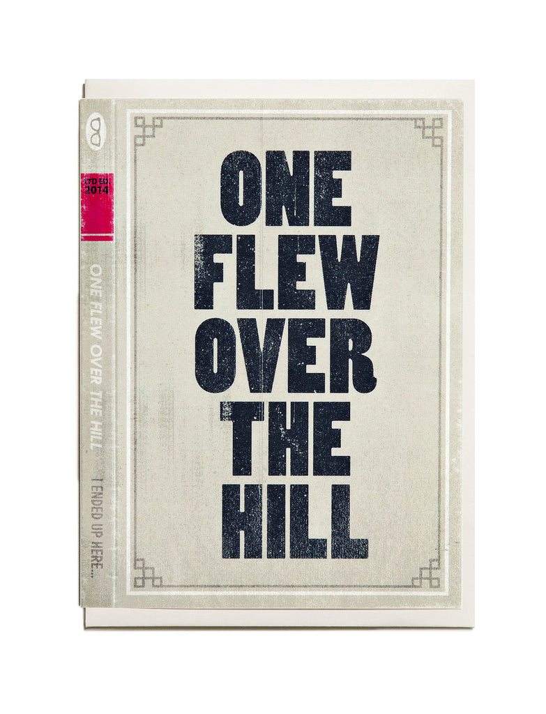 One Flew Over the Hill A6 Greeting Card