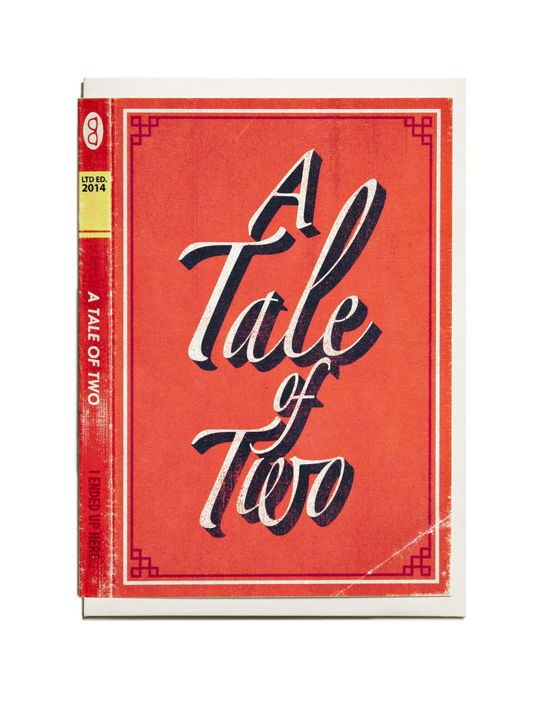 A Tale of Two A6 Greeting Card