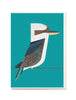 Kookaburra A6 Greeting Card