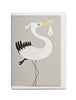 Stork A6 Greeting Card