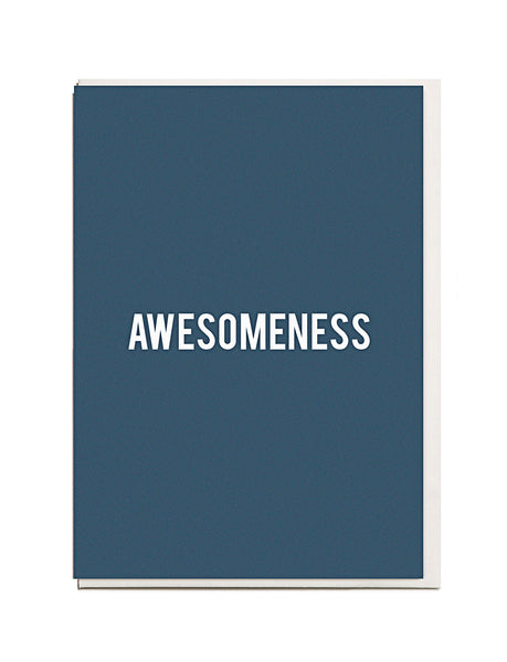 Awesomeness A6 Greeting Card