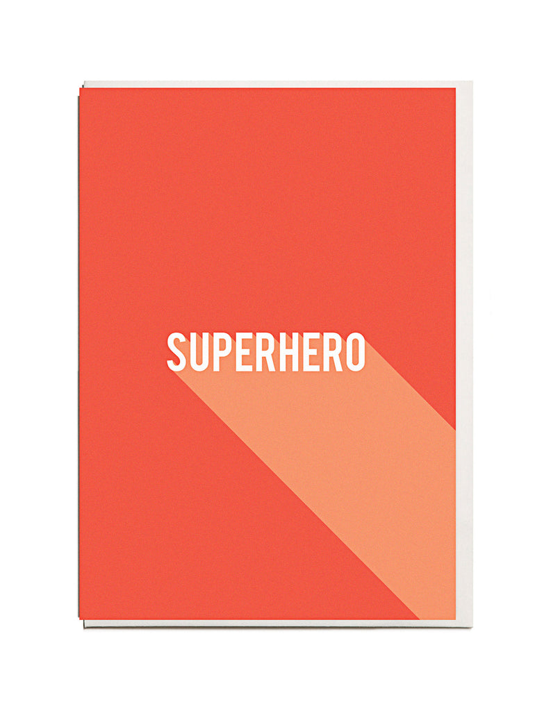 Superhero A6 Greeting Card