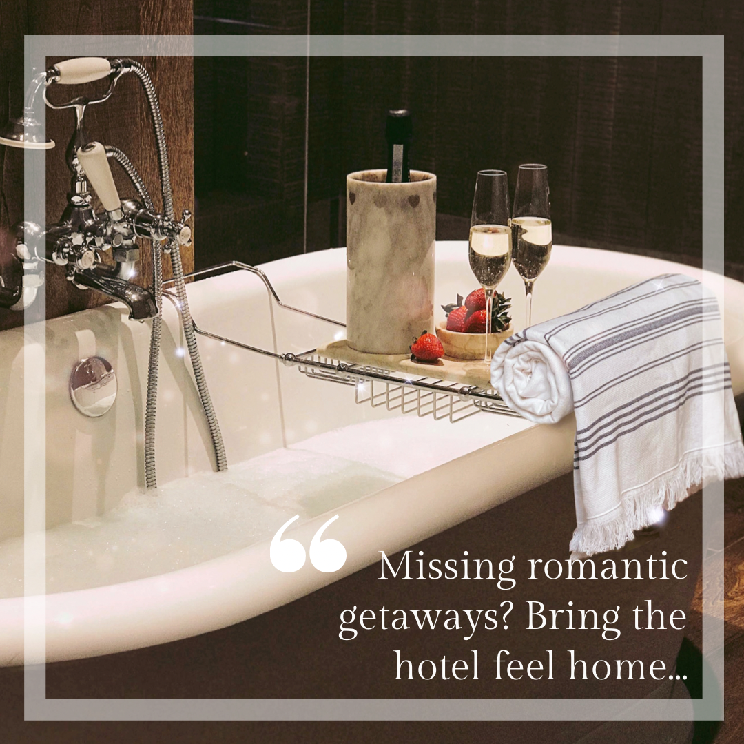 Can't getaway... bring hotel luxury to your home | Lockdown date night | Love and hugs | Valentine's 2021