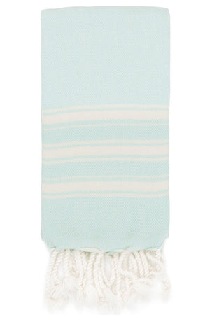 alexia hand size hamam towel in mint colour