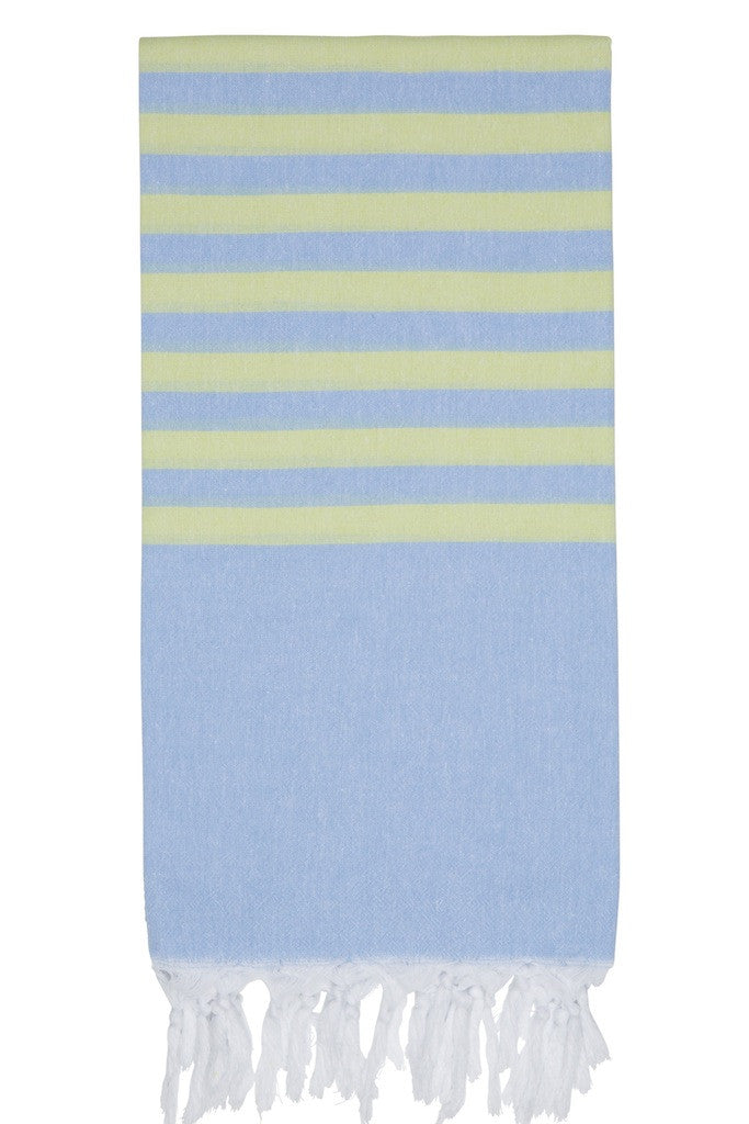 clara hammam towel forget me not kiwi