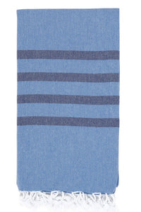 felix hamam towel denim navy