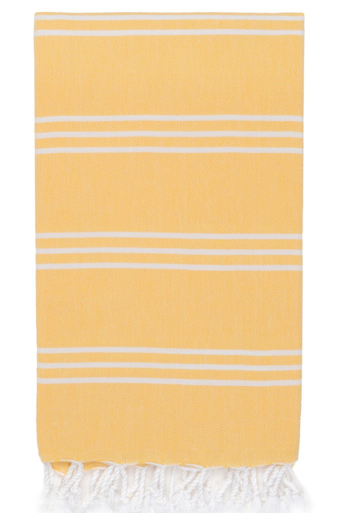 perim hamam towel lemon