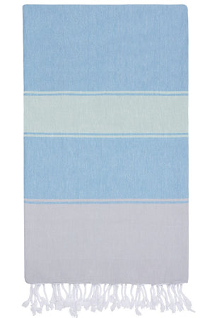 talia hammam towel forget me not ice