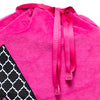 She-She Shoe Bag - Hot Pink/Trellis Print