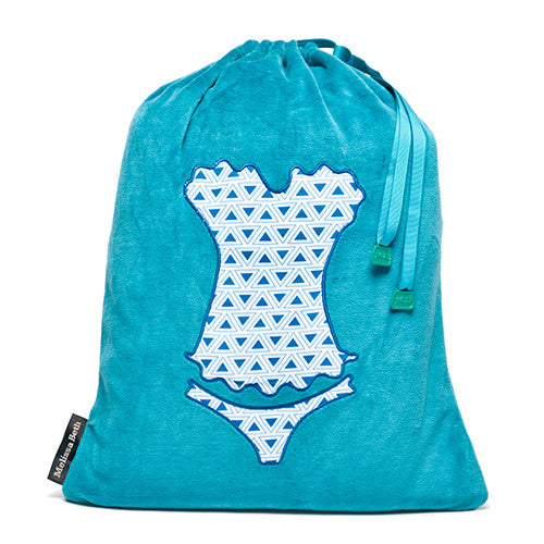 Ooh La La Lingerie Bag - Teal