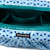 Pretty Pleats Cosmetic Case - Teal