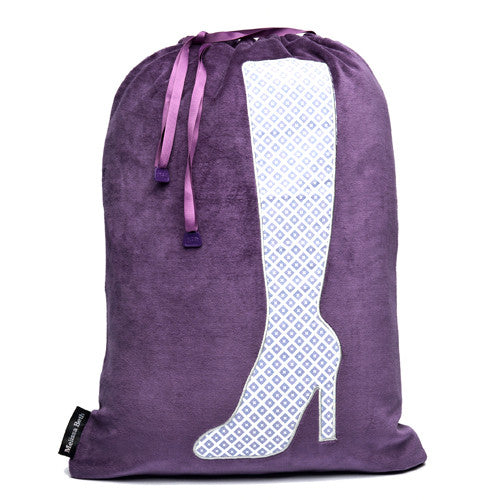 Bootylicious Boot Bag - Purple/Diamond